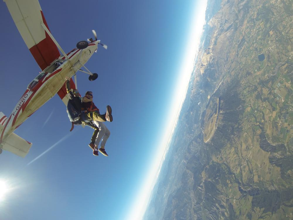 parachutisme a tallard