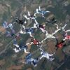 Ecole de parachutisme Gap, France