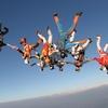 Saut en parachute team building