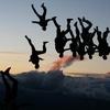 Saut en parachute enterrement de vie de garçon